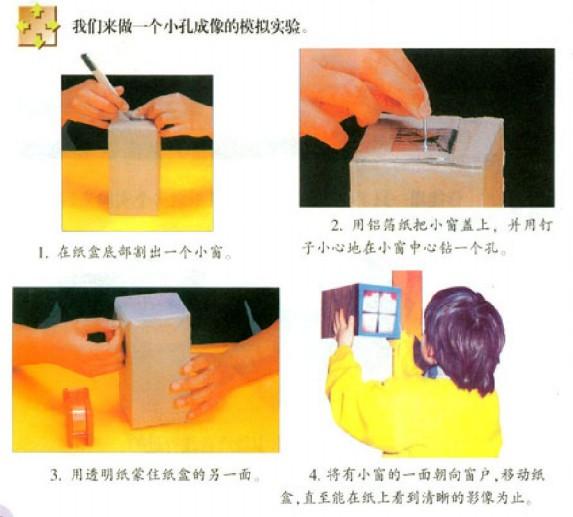 小孔成像实验装置