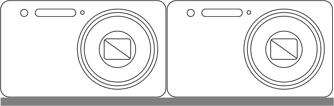 手绘相机彩色图片简单
